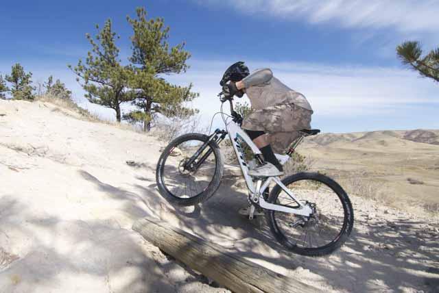 Andy. Climb.PosDakRidge